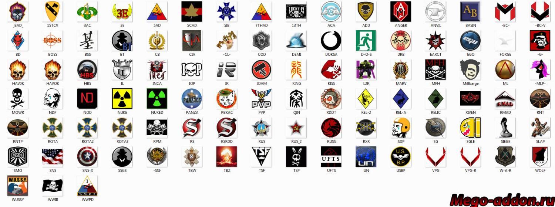 Как сделать лого в кланах